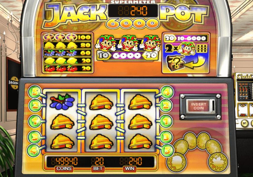 Jackpot 6000 - Spelautomat med nostalgitripp